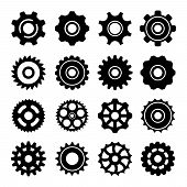 Set Icons Of Gears