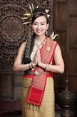 Women Dress In Northern Thailand.