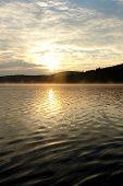 Lake Scene In The Early Morning
