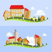 Urban Landscape Vector Illustration