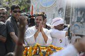 Rahul Gandhi in Varanasi