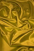 Gold Satin/Silk Fabric 2