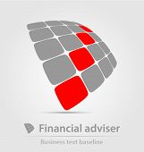 Financial Adviser Business Icon
