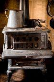 Vintage Iron Stove
