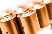 Aa Batteries Closeup