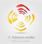 Solarium Studio Business Icon