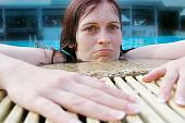Woman Pool