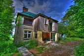 Hdr Derelict House