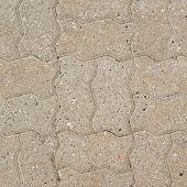 Stone brick path fragment