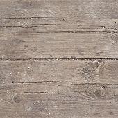 Old threadbare wooden surface