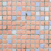 Floor ceramic squared tiles