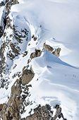 Off-piste Slope In The Alps