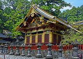 Toshogu Shrine, Nikko, Japan. Summer View.