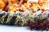 Appetizing Japanese Sushi