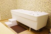 The balneotherapy bath in Spa salon
