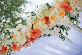 pic of centerpiece  - Wedding reception centerpiece close - JPG