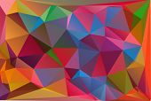 Polygonal Mosaic Background, Vector Illustration,  Business Design Templates