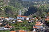 View on Faial, Madeira, Portugal