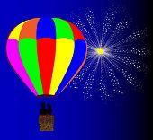 4Th July Hot Air Balloon