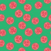 Stylized tomato pattern