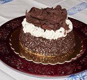 Cake, Cream And Chocolate