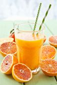 Fresh Pressed Blood Orange Juice