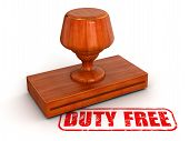 Rubber Stamp Duty free (clipping path included)