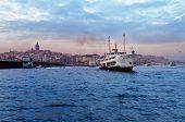 stock photo of passenger ship  - ISTANBUL - JPG
