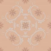 Decorative Abstract Background With Ornament