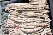 Used Ropes At Ship Chandler