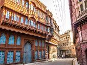 Beautiful Old Haveli In Bikaner