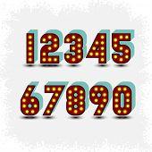 lightbulb digits