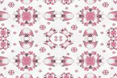 Modern Floral Decorative Pattern