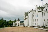 Cloudy Blair Castle
