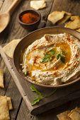 Healthy Homemade Creamy Hummus