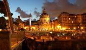 Beautiful Panorama Of The Night Rome