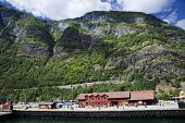 Sognefjord port in Flam