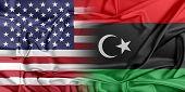 stock photo of libya  - Relations between two countries - JPG