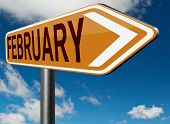 image of february  - February cold next winter month schedule and calender  - JPG