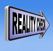 picture of life event  - reality check back to basics up for real life events and realistic goals   - JPG