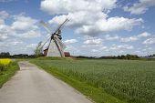 stock photo of windmills  - The windmill Bierde  - JPG