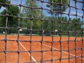 Постер, плакат: net for tennis