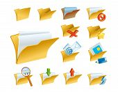A Set Of The Folder Icons