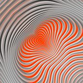 picture of distort  - Design colorful whirlpool movement background - JPG