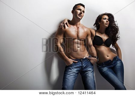 Picture or Photo of Fashion shoot of a sexy couple