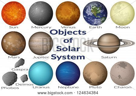 Space Set Planets