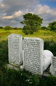 old  jewish cemetery in Ukraine