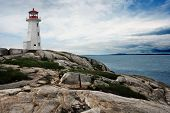 Lighthouse On Peggy's Cove