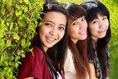 asian girl best friends