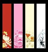 Asian art banner or sider backgrounds.